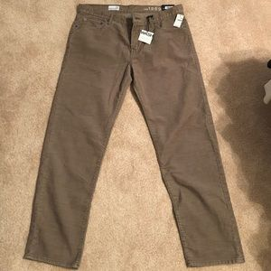 New Gap thin corduroy pants